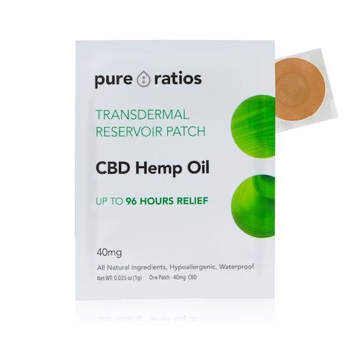 best cbd products, pure ratios transdermal cbd patch