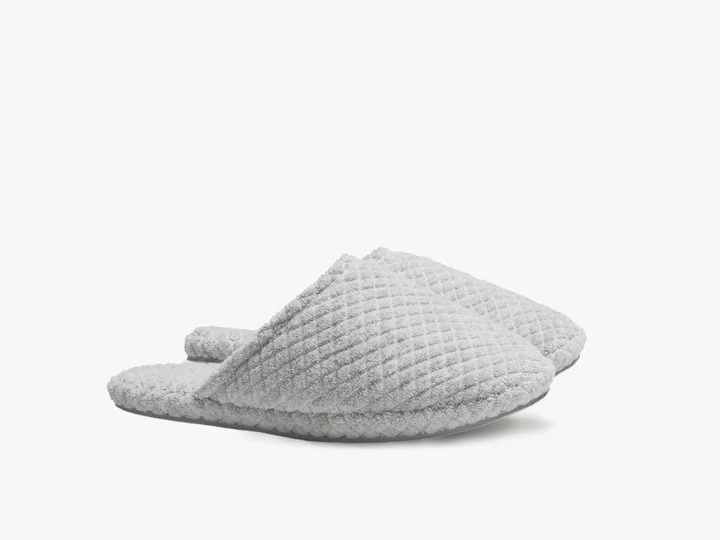 quilted parachute slippers