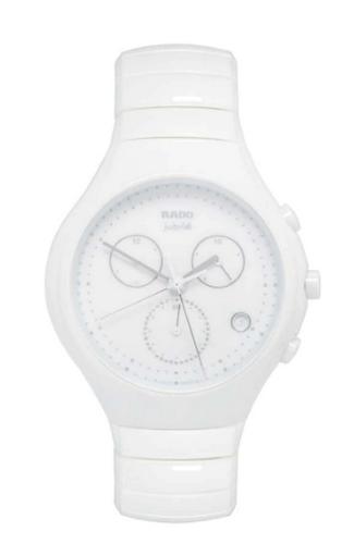 Rado white ceramic chronograph