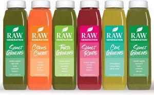raw generation juice cleanse, juice cleanses, best juice cleanses