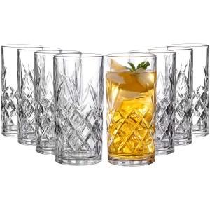 royalty art kinsley highball glasses, best highball glasses