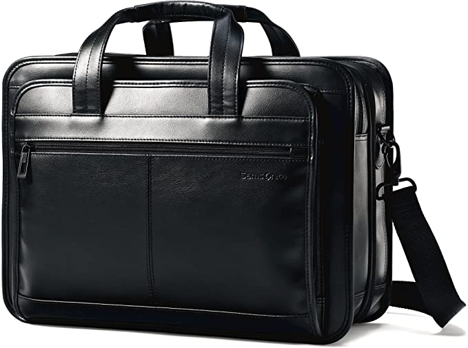 best briefcases for lawyers - samsonite leather case