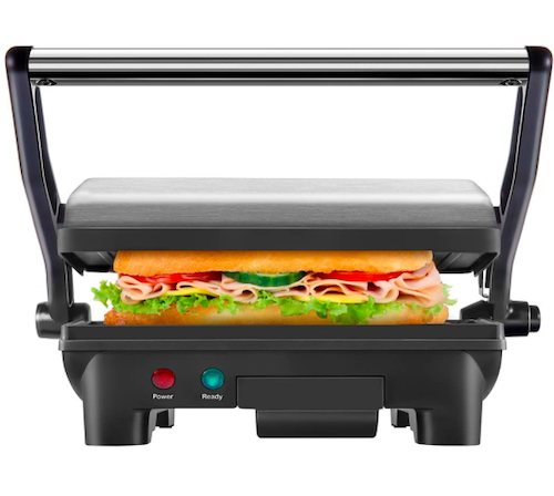 new house kitchen stainless steel panini grill