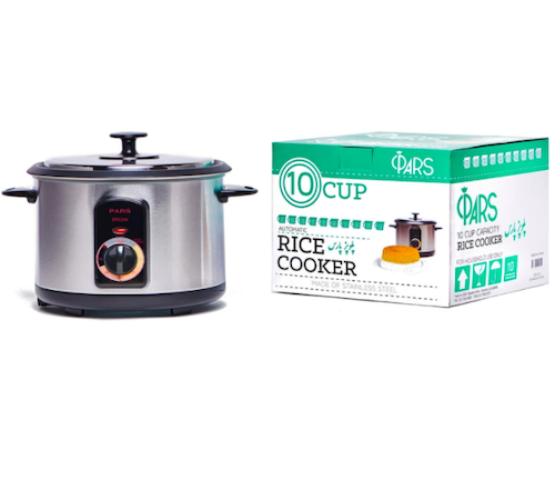 Tahdig rice maker, Pars Automatic Persian Rice Cooker