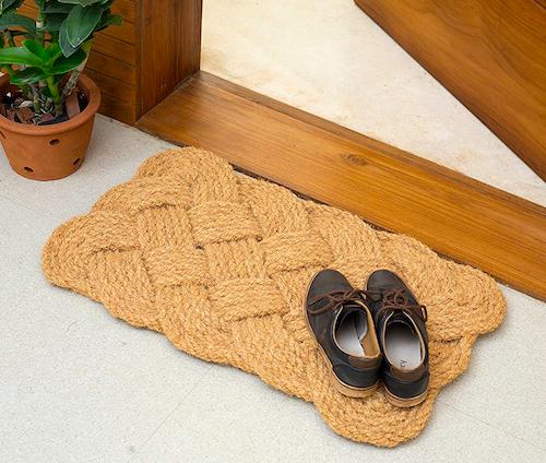 Iron Gate - Natural Jute Rope Woven Doormat