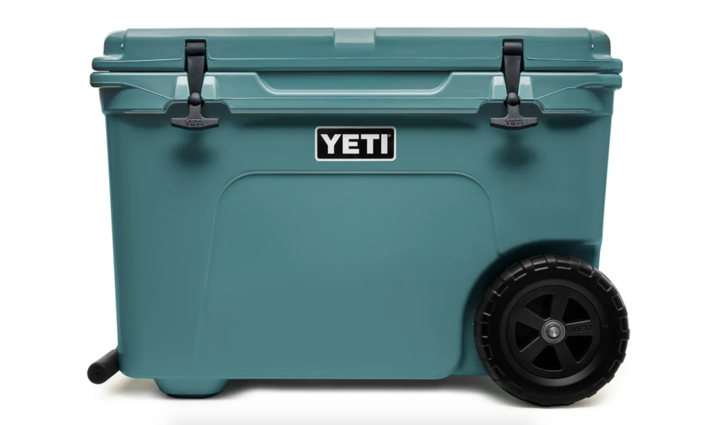 cooler with wheels yeti