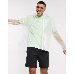 ASOS DESIGN Translucent Windbreaker Jacket