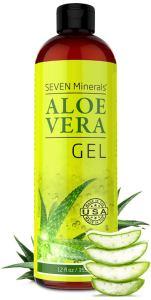 seven minerals aloe vera gel, benefits of aloe vera