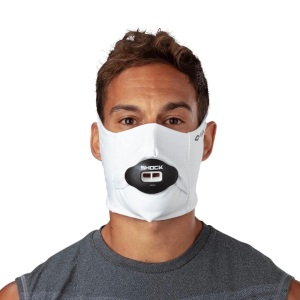 Shock doctor face mask, face masks for running and cycling