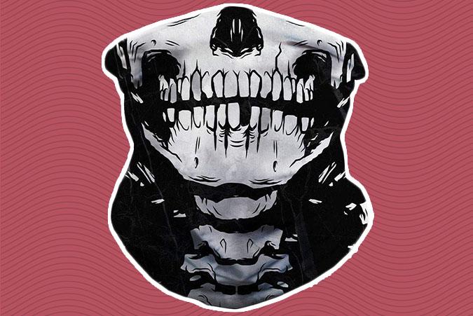 Skull Rave Mask
