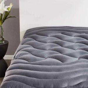 SLEEP ZONE premium mattress pad cover, cooling mattress topper