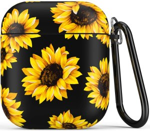sunflower airpods case, airpods case, airpods case cover