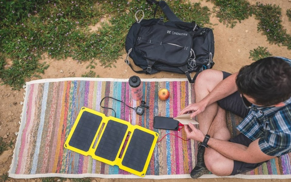 best solar-powered phone charger