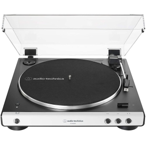 Audio-Technica AT-LP60XBT-WH Fully Automatic Bluetooth Record Player