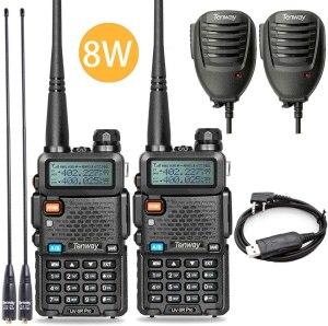 long range walkie talkies tenway