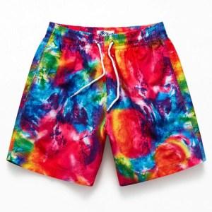 """Trunks Surf & Swim Bright Tie-Dyed 16"""" Swim Trunks"""