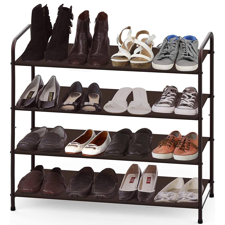 Simple Houseware 4-Tier Shoe Rack