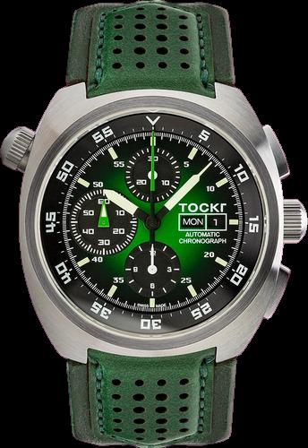 Tork air defender hulk green chronograph