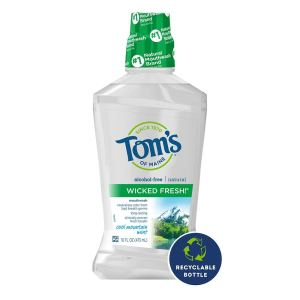 Tom's of Maine mouthwash, benefits of aloe vera