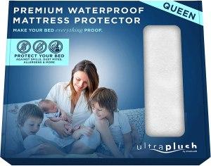 Ultra Plush 100% Waterproof Premium Mattress Protector,