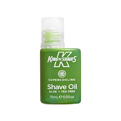 king of shave supercooling pre-shave oil