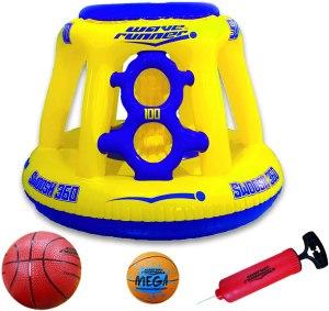 wave runner basketball hoop, pool basketball hoop