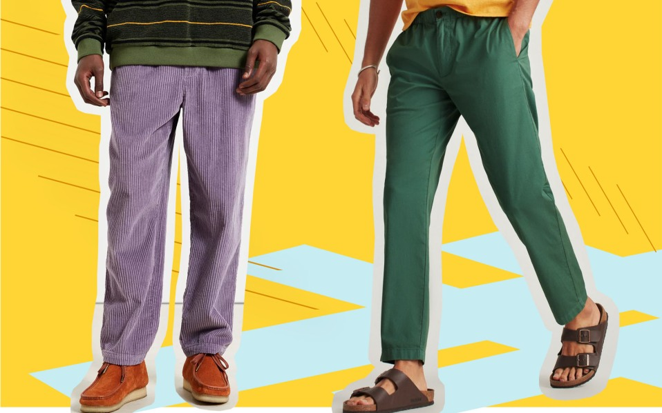 mens beach pants