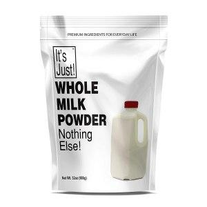 it's just whole milk powder, shelf-stable milk