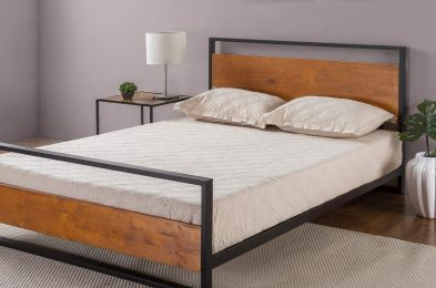 Zinus-Suzanne-Metal-and-Wood-Platform-Bed