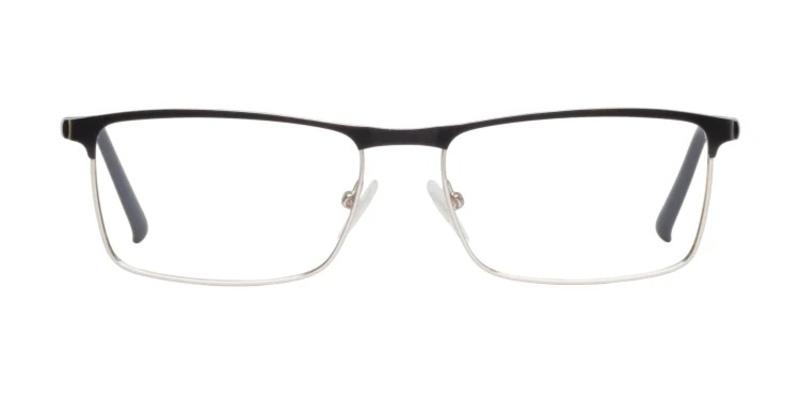39DollarGlasses Matsumoto 4 Eyeglasses in black and silver