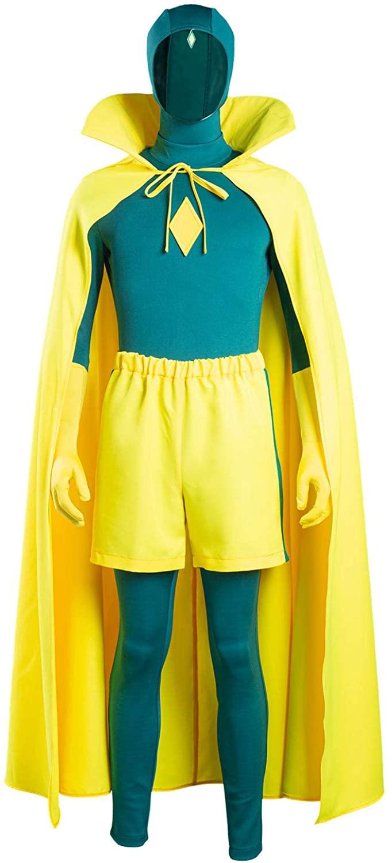 best superhero halloween costumes for men - Vision Costume
