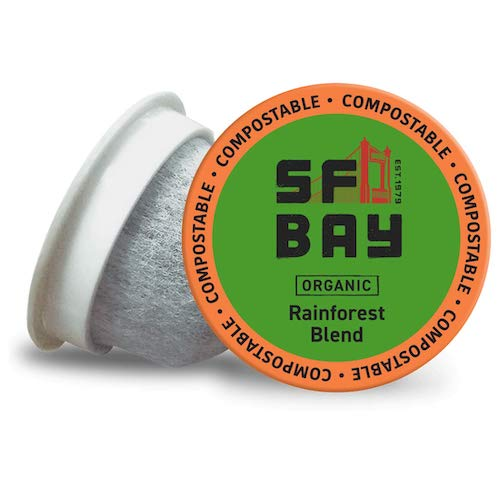 SF Bay OneCup Coffee Organic Rainforest Blend