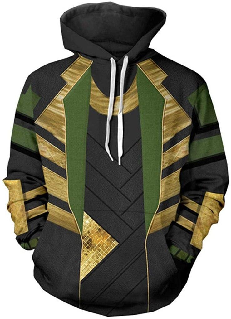 WKDFOREVER 3D Captain Fashion Cosplay Hoodie Jacket