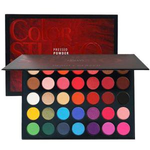 Beauty Glazed Sweatproof Matte and Shimmer Eyeshadow Make up Palettes