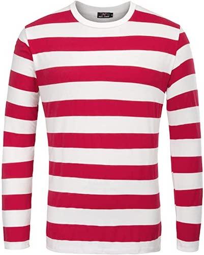 best cheap halloween costume - Where's Waldo shirt