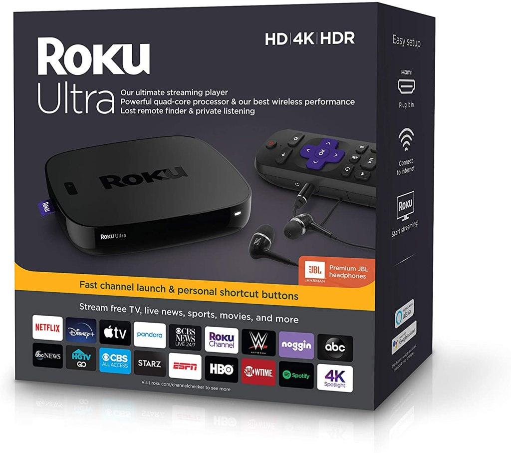 roku ultra - best streaming devices