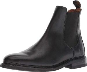 Frye men's black chelsea boot, chelsea boots
