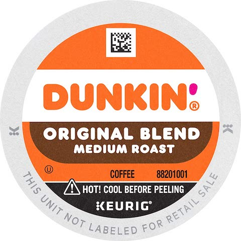 Dunkin' Donuts Original Blend Medium Roast K-Cup