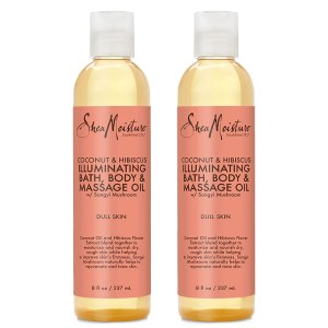 SheaMoisture Coconut & Hibiscus Bath, Body & Massage Oil