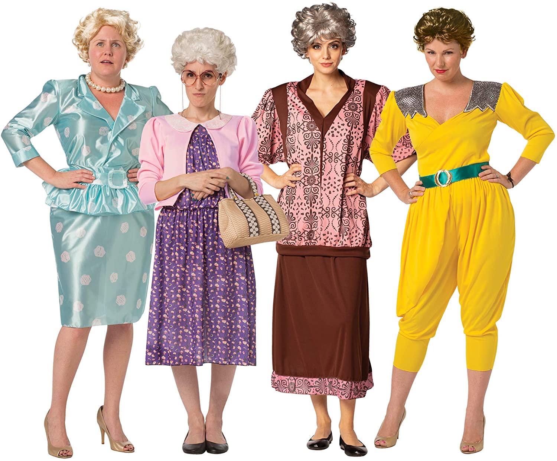 Golden Girls Inspired Costume, best couples Halloween costume