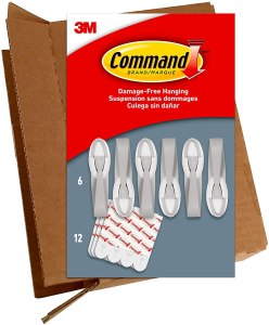 Command Gray Cord Bundlers