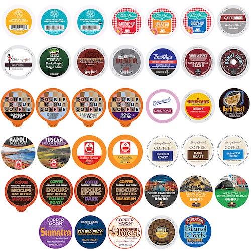 best keurig pods- Crazy Cups Single Serve & K Cups Variety Pack, 40-count