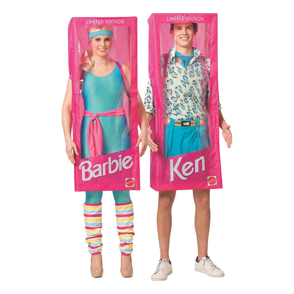 best couples Halloween costume- Adult Barbie and Ken Couple Costumes