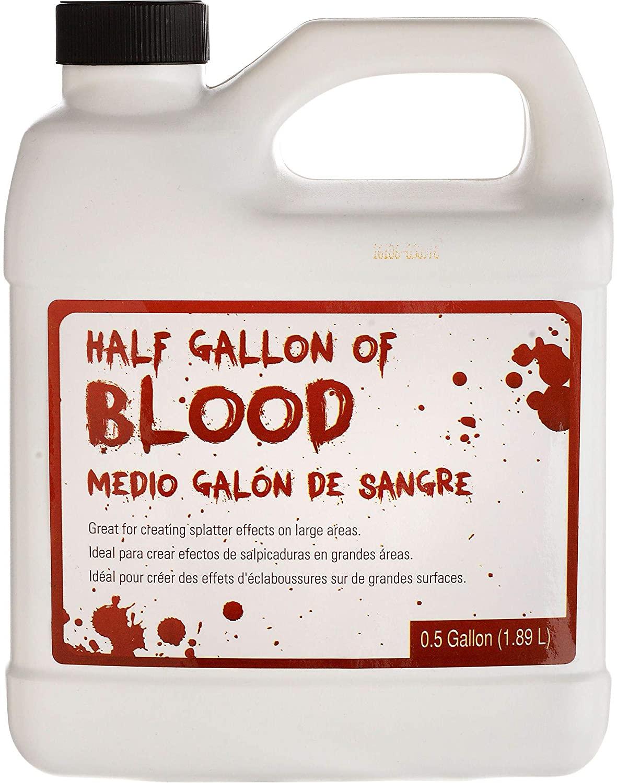 Amscan Half Gallon of Fake Red Blood