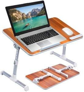 Avantree Neetto Height Adjustable Laptop Bed Desk