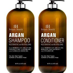 BOTANIC HEARTH Argan Oil Shampoo and Conditioner Set