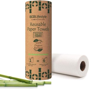 eco friendly gifts bamboo reusable paper towels