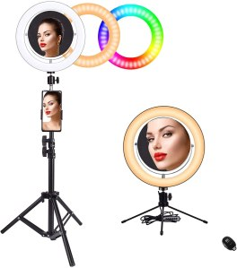 "Baufuy 10"" Ring Light, best budget ring light"