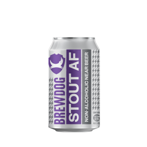 Brewdog Stout AF non-alcoholic beer, non-alcoholic beer, best non-alcoholic beer
