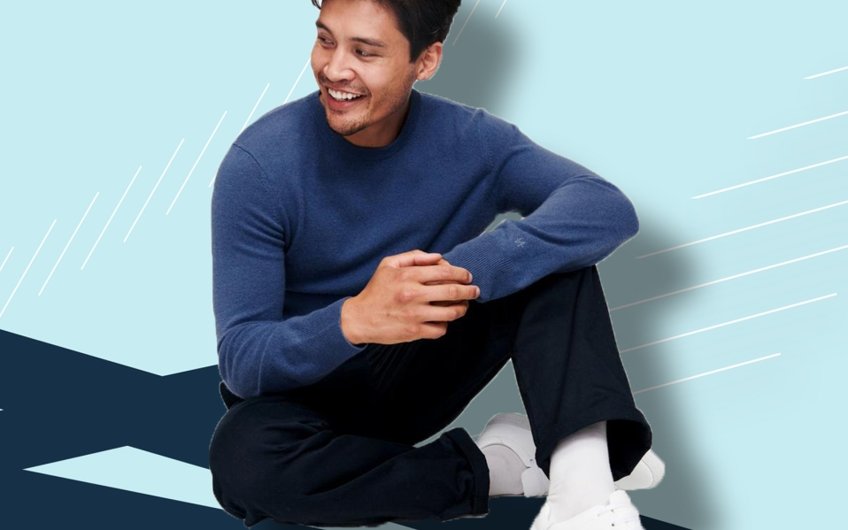 best cashmere sweaters for men featured